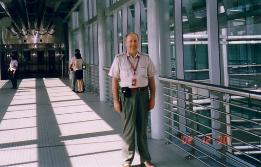 Dr Jan Pajak in KLCC from Kuala Lumpur, Malaysia, December 2002